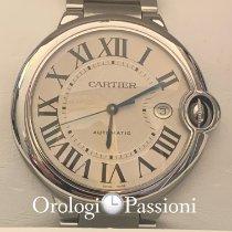 Cartier Ballon Bleu 42mm W69012Z4 Mai indossato Acciaio 42mm Automatico Italia, milano