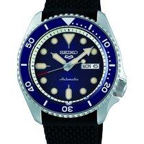 Seiko 5 Sports Steel 42.5mm Blue No numerals