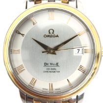 Omega De Ville 43743100 Very good Gold/Steel 36mm Automatic