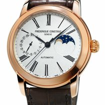 Frederique Constant Manufacture Classic Moonphase Rose gold United States of America, New York, Monsey