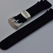 Seiko Accesorios usados Caucho Negro Marinemaster