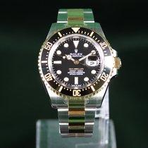 Rolex Sea-Dweller Or/Acier 43mm Noir