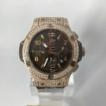 Hublot Big Bang 41 mm 341.PC.3380.RC Sehr gut Roségold 44mm Automatik