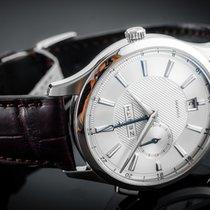 Zenith Elite Dual Time Acier 40mm Blanc Sans chiffres