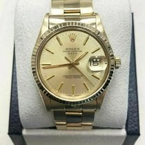 Rolex Oyster Perpetual Date Yellow gold 34mm Champagne United States of America, California, San Diego