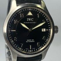 IWC Pilot Mark Steel 38mm Black Arabic numerals United States of America, Michigan, Birmingham