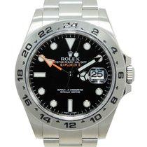 Rolex Explorer II neu Automatik Uhr mit Original-Box und Original-Papieren 216570BK
