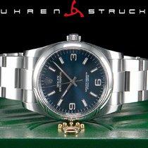 Rolex Oyster Perpetual 36 Stahl 36mm Blau Arabisch Deutschland, Essen