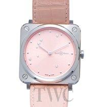 Bell & Ross Женские часы BR S 39mm Кварцевые новые Часы с оригинальными документами и коробкой 2020