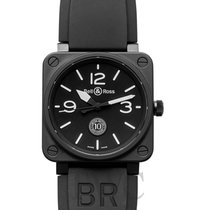 Bell & Ross Ceramic Automatic Black 46mm new BR 01-92