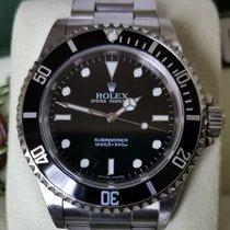 Rolex Submariner (No Date) Acciaio 40mm Nero Senza numeri Italia, Milano