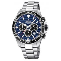Festina F20361-3 New Steel 44mm Quartz United Kingdom, Rugeley