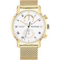 Tommy Hilfiger new Quartz 44mm Gold/Steel