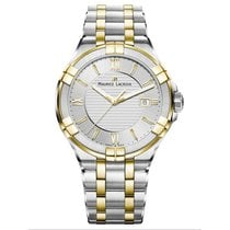 Maurice Lacroix AIKON AI1008-PVY13-132-1 New Gold/Steel 42mm Quartz
