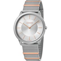 ck Calvin Klein Steel 40mm Quartz K3M511Y6 new