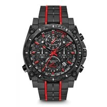 Bulova Precisionist 98B313 New Steel Quartz
