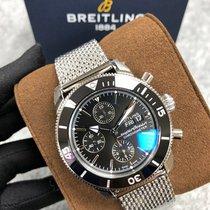 Breitling Superocean Héritage Chronograph Steel 44mm Black