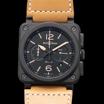 Bell & Ross BR 03-94 Chronographe Ceramic 42mm Black United States of America, California, Burlingame