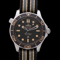 Omega Titanium Automatic Brown 42mm new Seamaster Diver 300 M