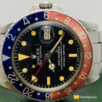 Rolex GMT-Master Steel 40mm Black No numerals