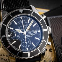 Breitling Superocean Héritage Chronograph Steel 45mm Black Arabic numerals
