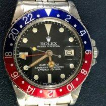 Rolex GMT-Master Steel 40mm Black No numerals India, Mumbai