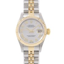 Rolex Lady-Datejust 26mm Bjel