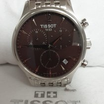 Tissot Tradition rabljen 42mm Siv Zeljezo