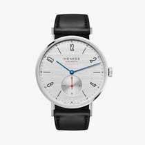 NOMOS Tangente Neomatik Steel 38.5mm Silver Arabic numerals United States of America, Iowa, Des Moines