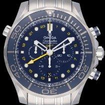 Omega Seamaster Diver 300 M Acél 44mm Kék Számjegyek nélkül