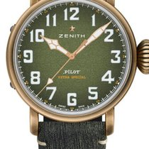 Zenith Pilot Type 20 Bronze 45mm Black Arabic numerals United States of America, Texas, Houston