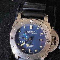 Panerai Special Editions Titanium 44mm Blue No numerals