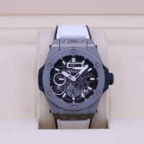 Hublot pre-owned Manual winding 45mm Transparent Sapphire crystal 10 ATM