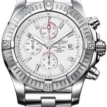 Breitling Super Avenger Steel 48mm White No numerals United States of America, New Jersey, Edgewater