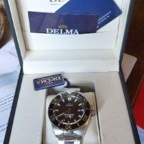 Delma Steel 45,5mm Automatic 41702.652.6.038 new