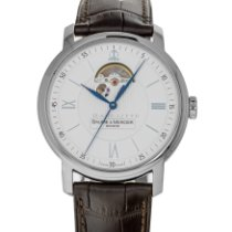Baume & Mercier Classima Steel 42mm Silver Roman numerals United States of America, Maryland, Baltimore, MD