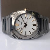 Bulgari Steel 41mm Automatic BGO 41 S pre-owned