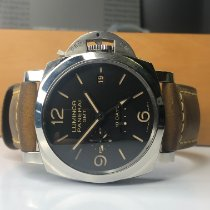 Panerai Luminor 1950 10 Days GMT Steel 44mm Black Arabic numerals United States of America, Michigan, Birmingham