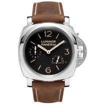 Panerai Luminor 1950 3 Days Power Reserve Steel 47mm Black Arabic numerals United States of America, New York, New York