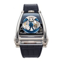 Mb&f Or blanc 51mm Remontage automatique 80.WTL.B occasion