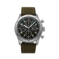 Breitling Aviator 8 Steel 43mm Green Arabic numerals United States of America, Pennsylvania, Bala Cynwyd