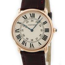 Cartier Roségold Handaufzug W6800251 gebraucht