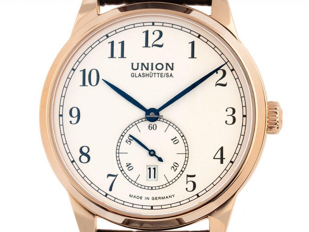 Union Glashütte 1893 Small Second D903.428.76.013.00 new