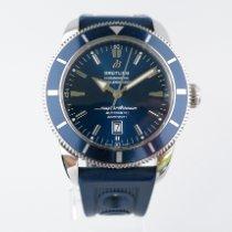 Breitling Superocean Héritage 46 Stahl 46mm Blau Keine Ziffern