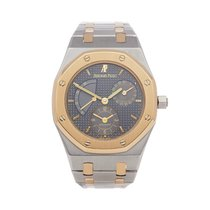 Audemars Piguet Royal Oak Dual Time Gold/Steel 36mm Grey