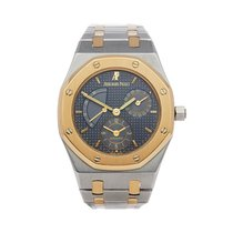Audemars Piguet Royal Oak Dual Time Золото/Cталь 36mm Cерый