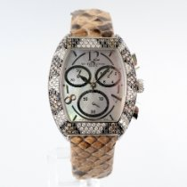 Van Der Bauwede nuevo Automático Con piedras preciosas y diamantes 33mm Plata Cristal de zafiro
