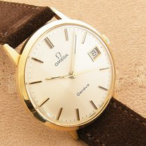 Omega Genève Yellow gold 33mm White No numerals