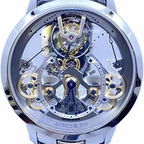 Arnold & Son Time Pyramid Steel 44.6mm Transparent Roman numerals United States of America, Florida