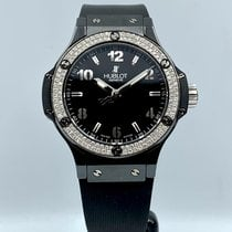 Hublot Big Bang 38 mm Cerámica 38mm Negro